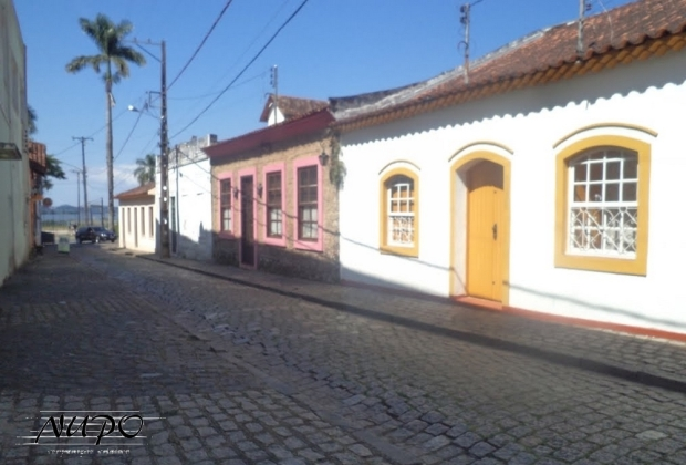 Centro histórico de Antonina/PR (foto de Carlírio Neto).